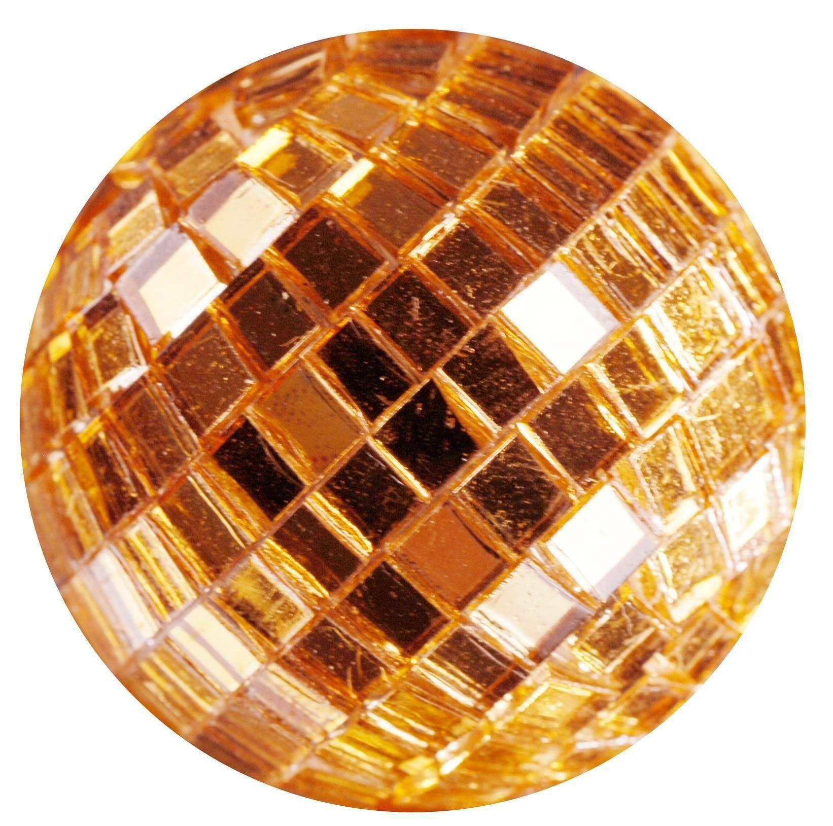 eurosand sfere di specchio arancio  20 mm - 30 pz