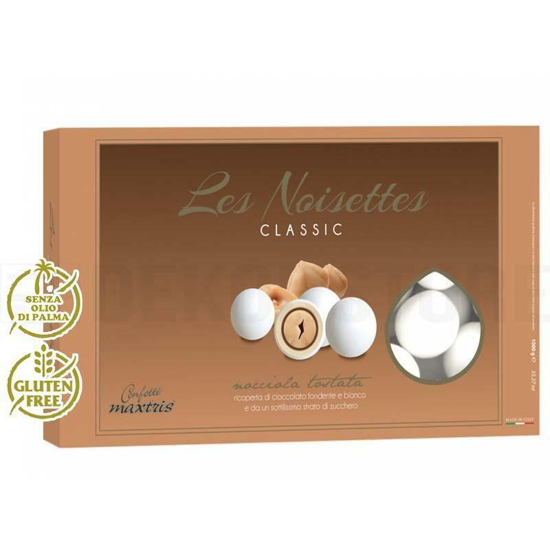 maxtris confetti maxtris les noisettes bianco - 1 kg