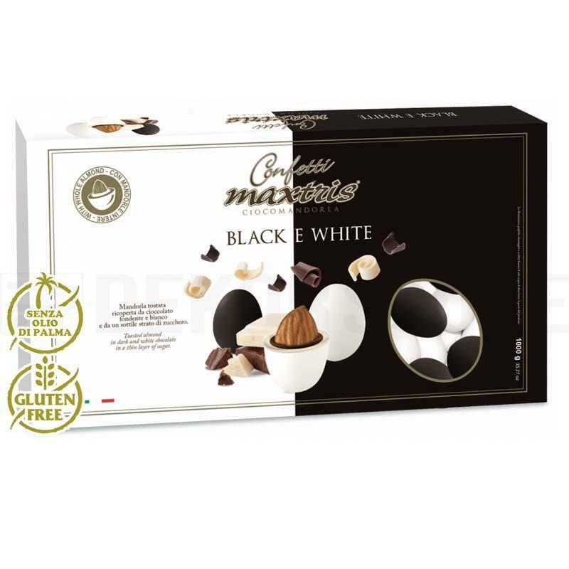 maxtris confetti maxtris black and white - 1 kg