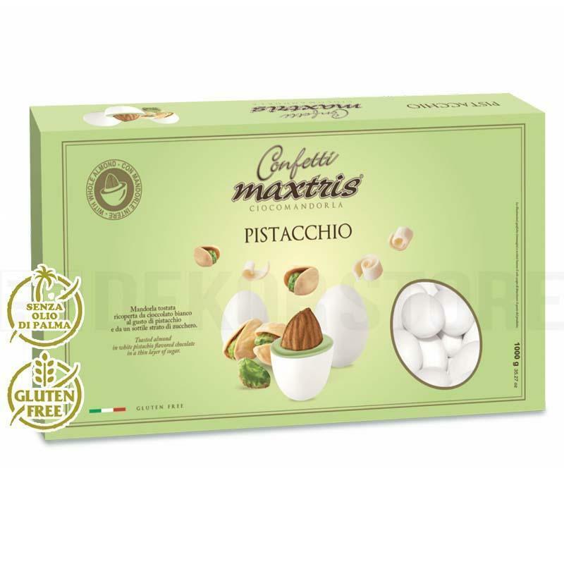 maxtris confetti maxtris pistacchio - 1 kg
