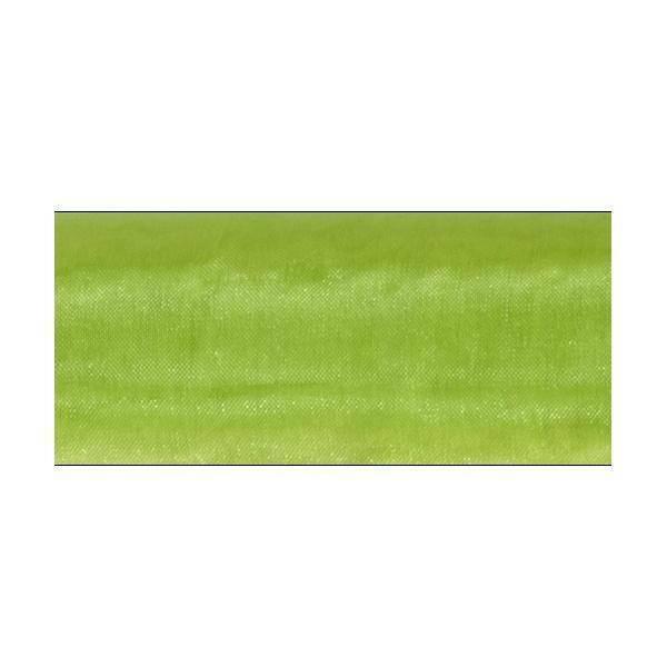 organza verde mela - 47 cm x 10 yd