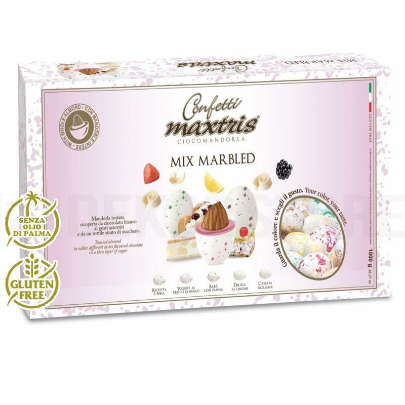 maxtris confetti maxtris mix marbled - 1 kg