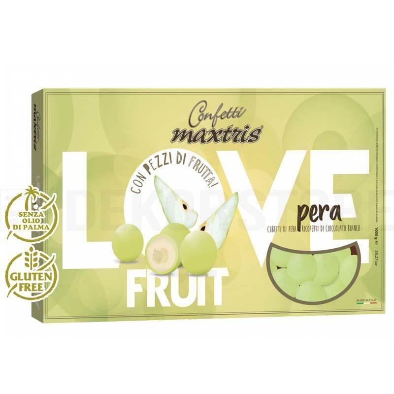 maxtris confetti maxtris love fruit pera - 1 kg