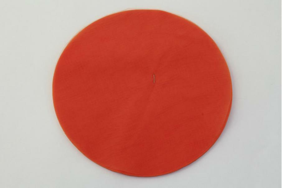velo di fata arancio (24 cm x 50 pz)