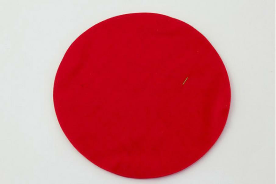 velo di fata rosso (24 cm x 50 pz)