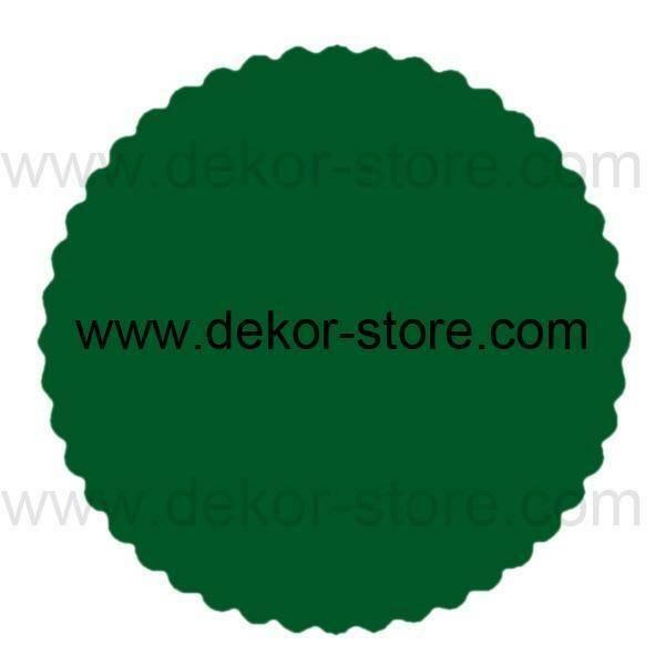velo di fata verde scuro (24 cm x 50 pz)