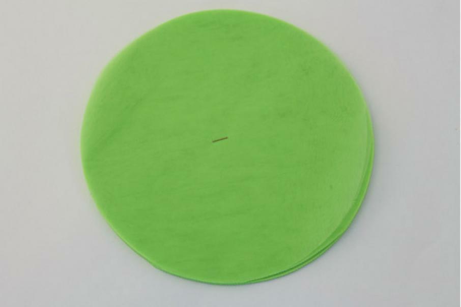 velo di fata verde acido (24 cm x 50 pz)