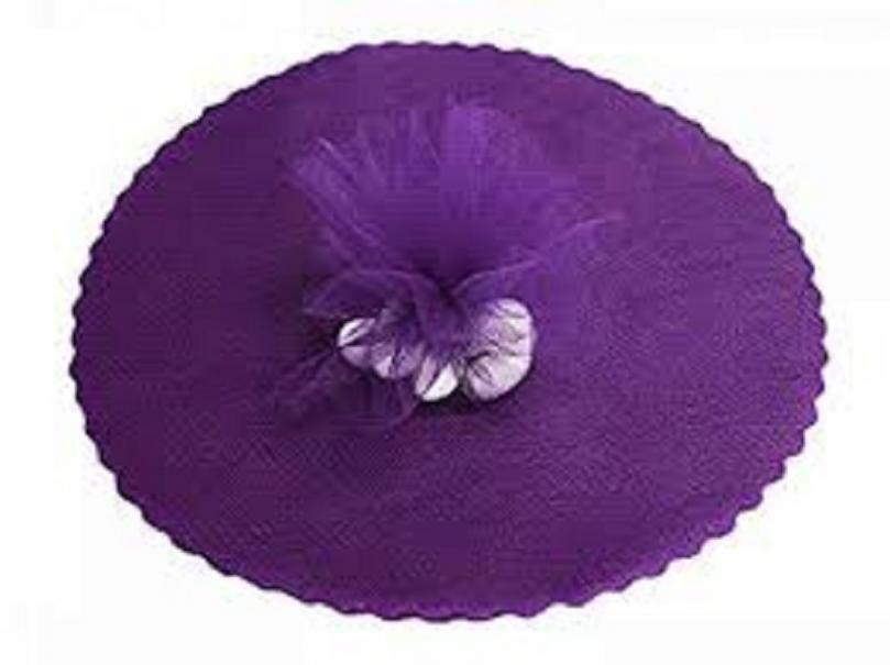 velo di fata viola (24 cm x 50 pz)