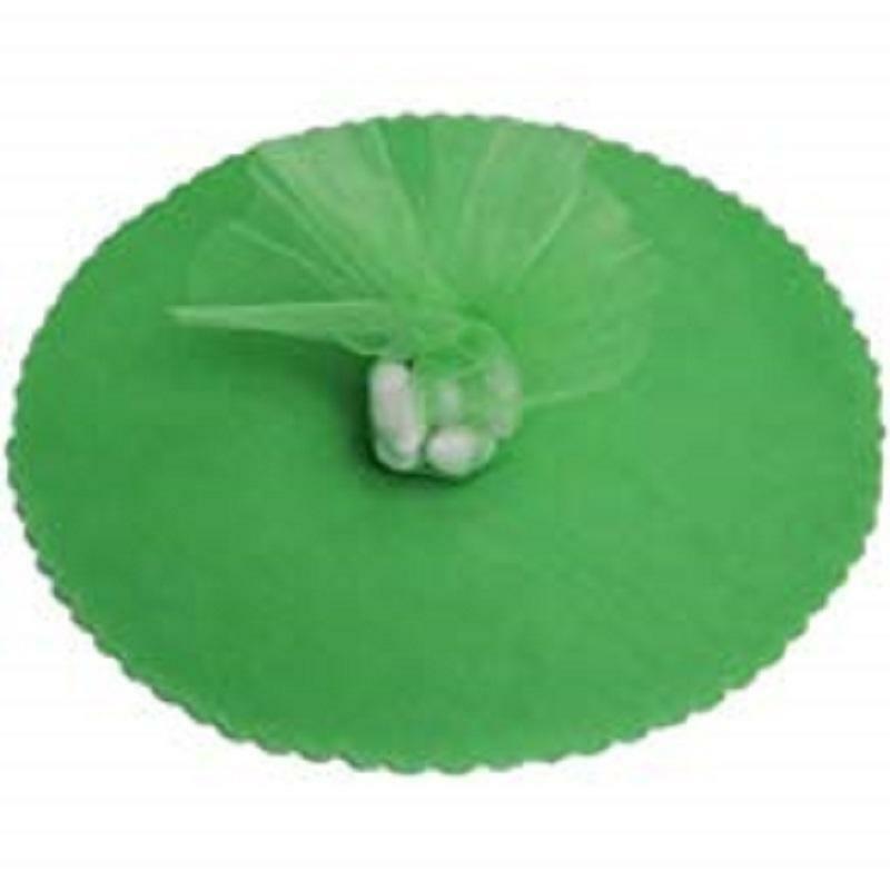 velo di fata verde smeraldo (24 cm x 50 pz)