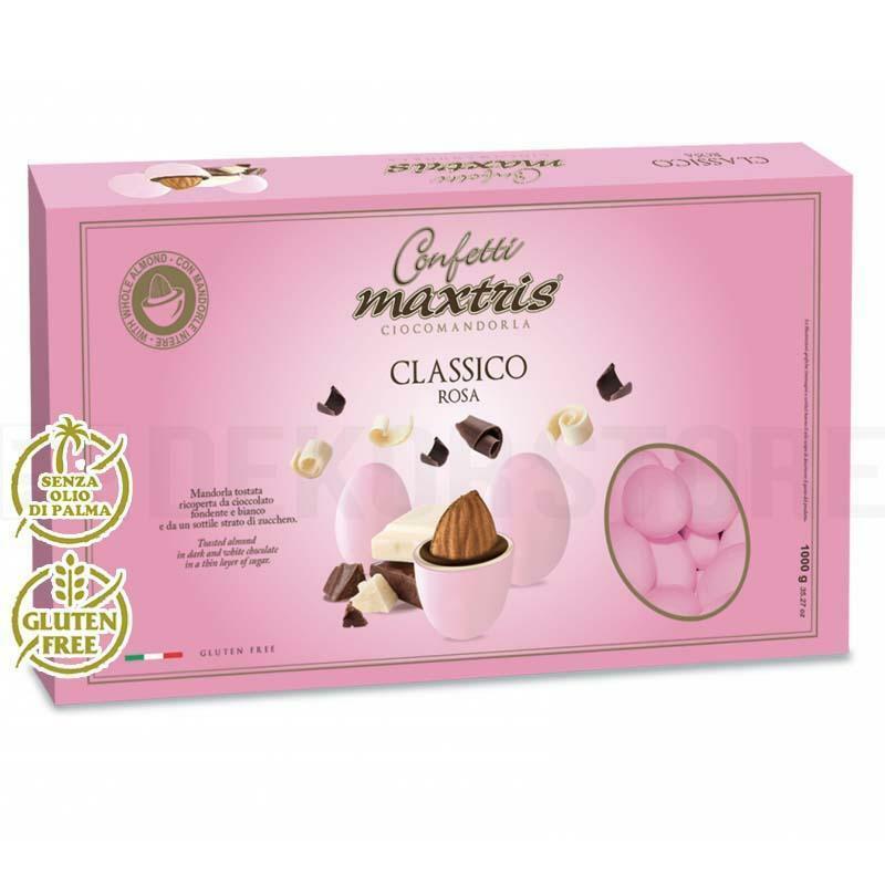maxtris confetti maxtris classico rosa - 1 kg