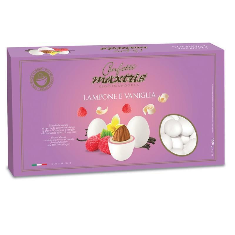maxtris confetti maxtris lampone e vaniglia - 1 kg
