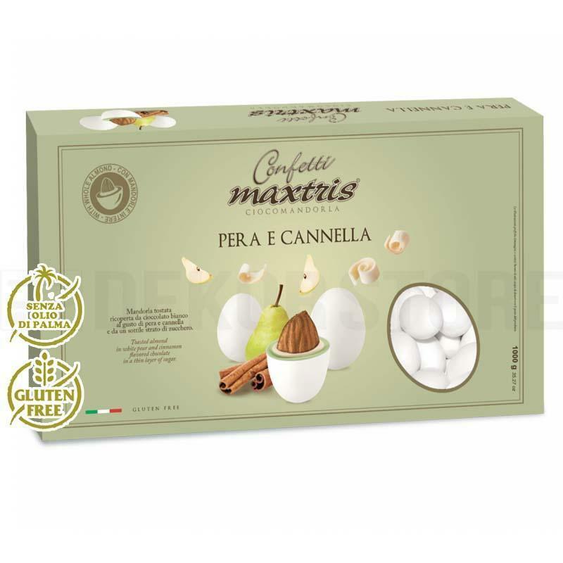 maxtris confetti maxtris pera e cannella - 1 kg