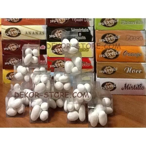 maxtris degustazione confetti maxtris 20 gusti personalizzata