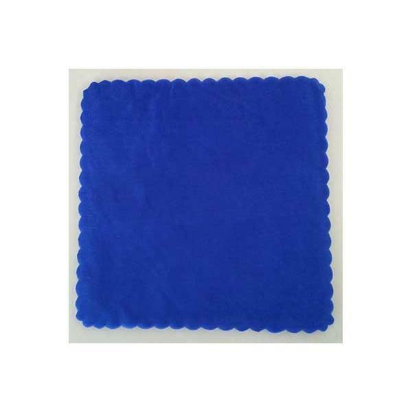velo di fata quadrato blu royal (23 cm x 50 pz)