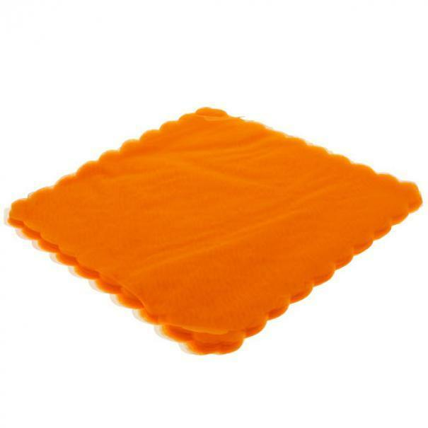 velo di fata quadrato arancio (23 cm x 50 pz)