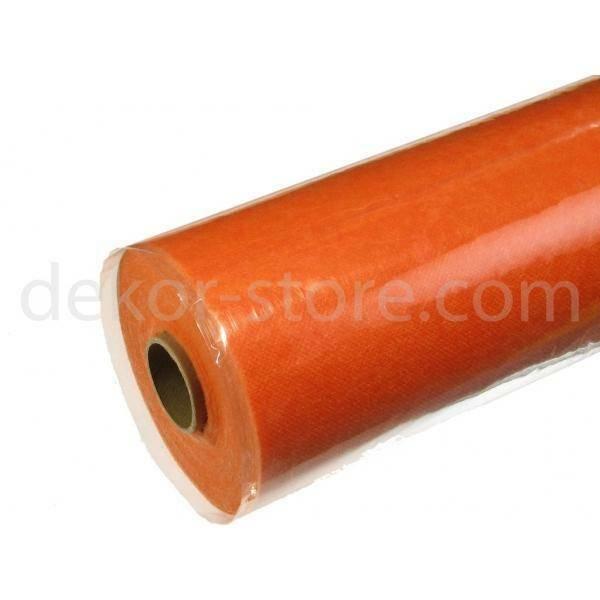 tovaglia tnt 80cm x 20mt (60gr/mq) arancio