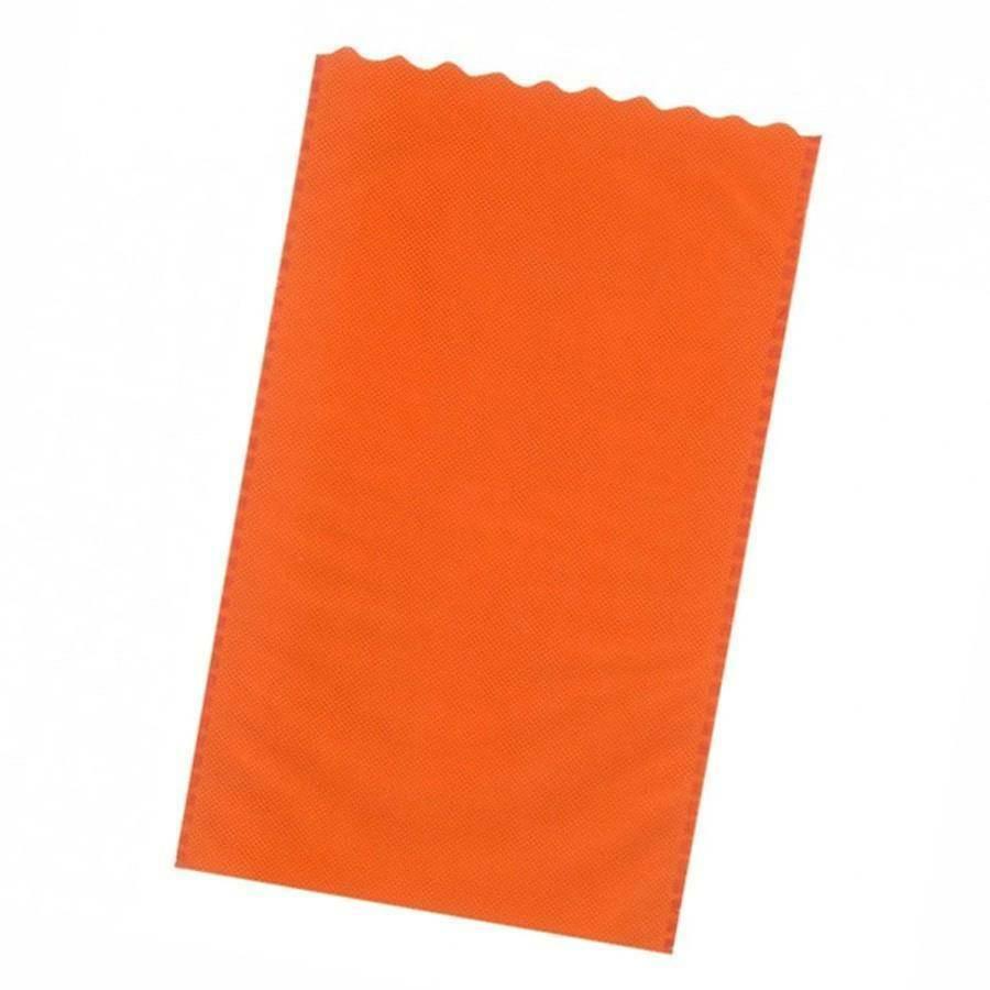 dol24 srl sacchetto tnt 15x25 cm smerlato - arancio