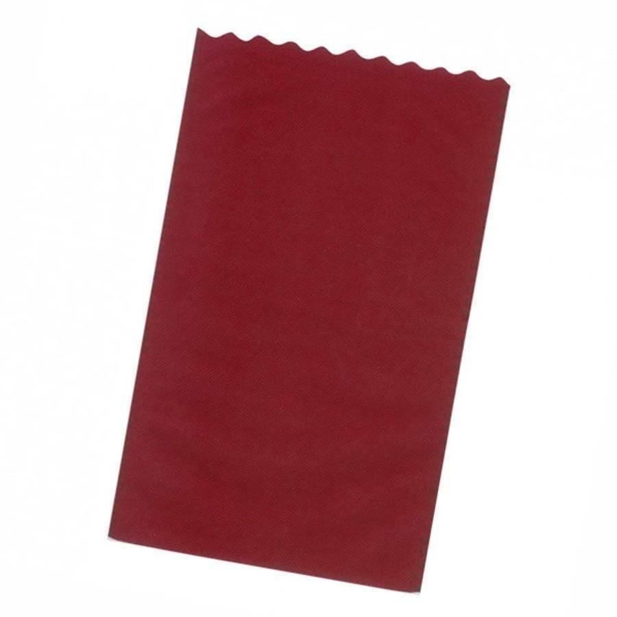 dol24 srl sacchetto tnt 15x25 cm smerlato - bordeaux