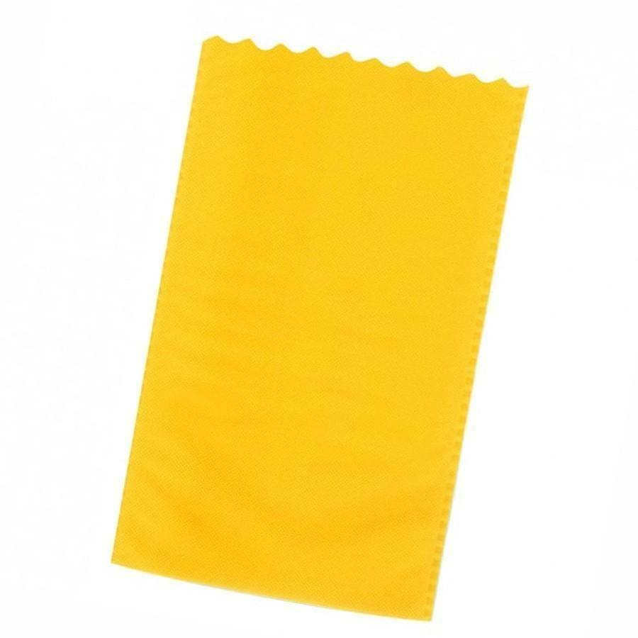 dol24 srl sacchetto tnt 15x25 cm smerlato - giallo