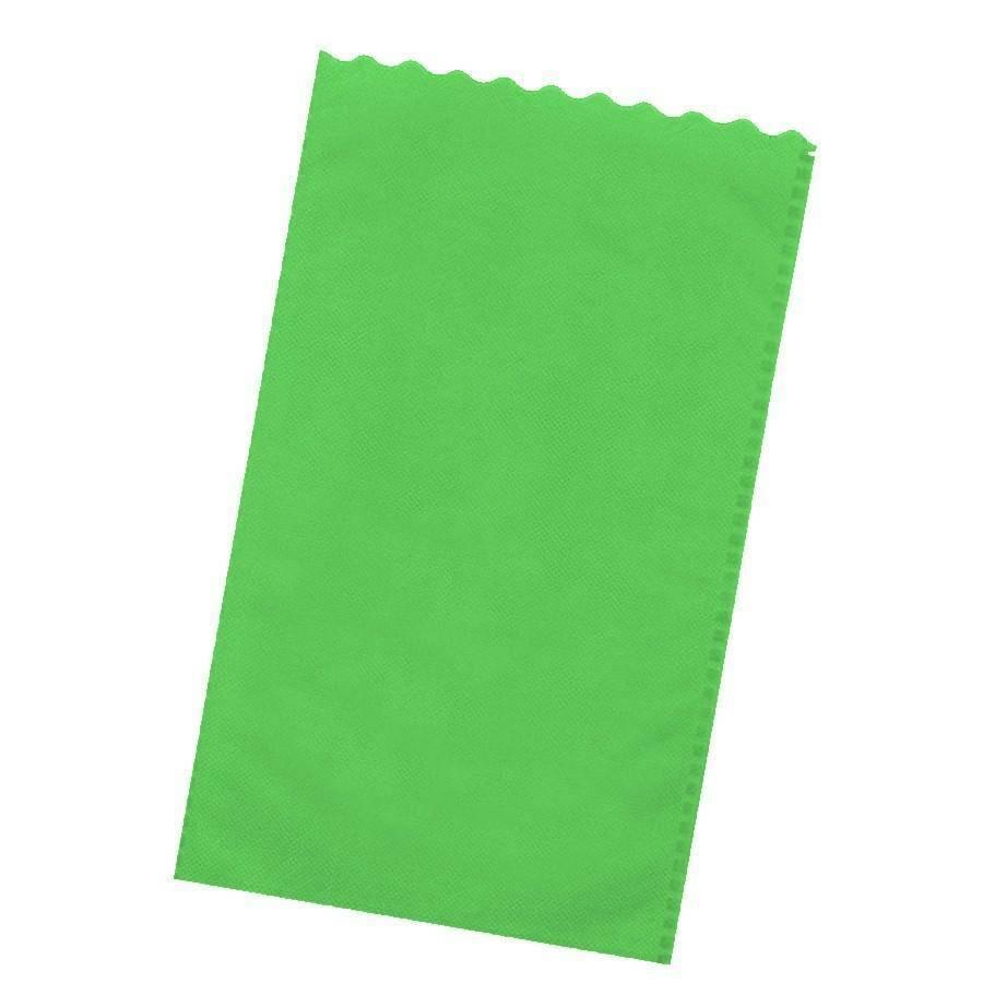 dol24 srl sacchetto tnt 15x25 cm smerlato - verde acido