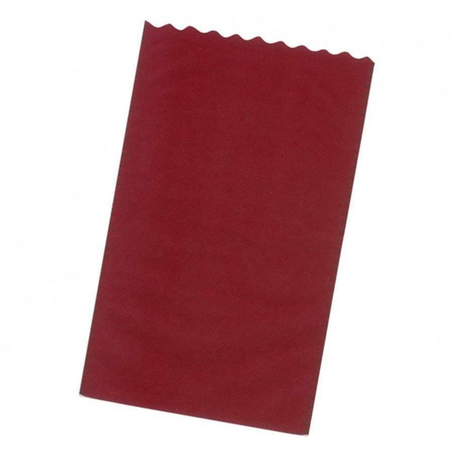 dol24 srl sacchetto tnt 25x40 cm smerlato - bordeaux