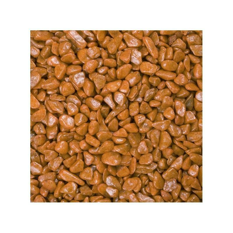 eurosand eurosand ghiaia 6-8 mm - terracotta (1kg)