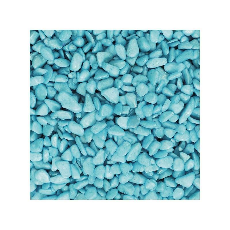 eurosand eurosand ghiaia 6-8 mm - turchese (1kg)