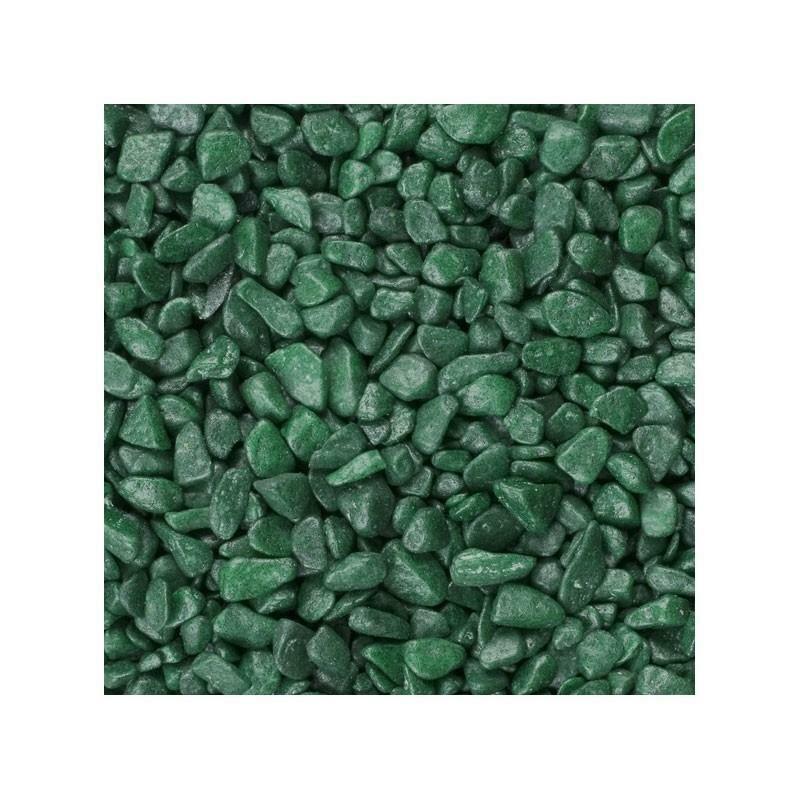 eurosand eurosand ghiaia 6-8 mm - verde muschio(1kg)