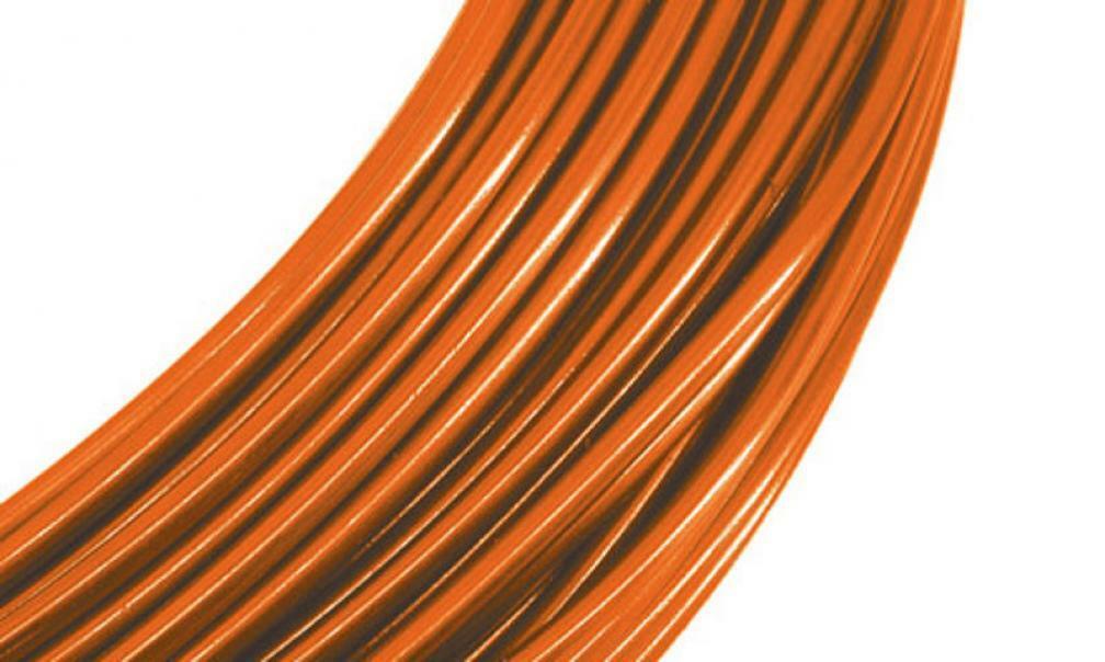 alluminio arancio 2 mm x 12 metri