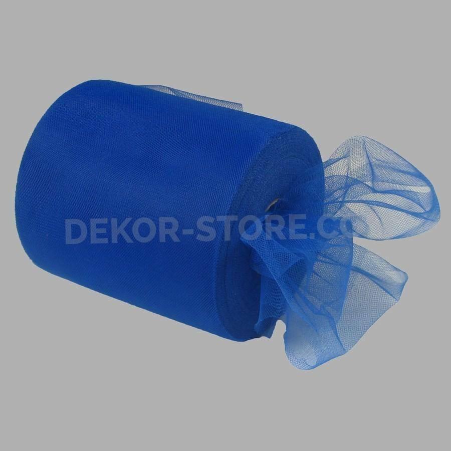 rgb tulle blu - 12,5 cm x 100 mt