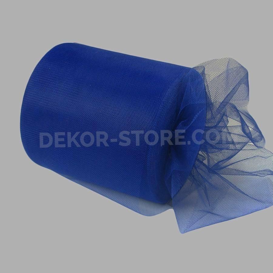 rgb tulle blu scuro - 12,5 cm x 100 mt