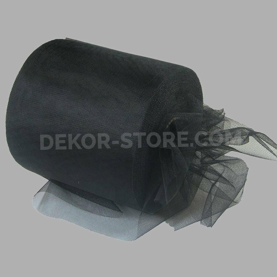 rgb tulle nero - 12,5 cm x 100 mt