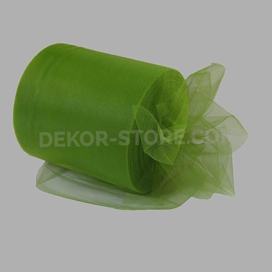 rgb tulle verde erba - 12,5 cm x 100 mt