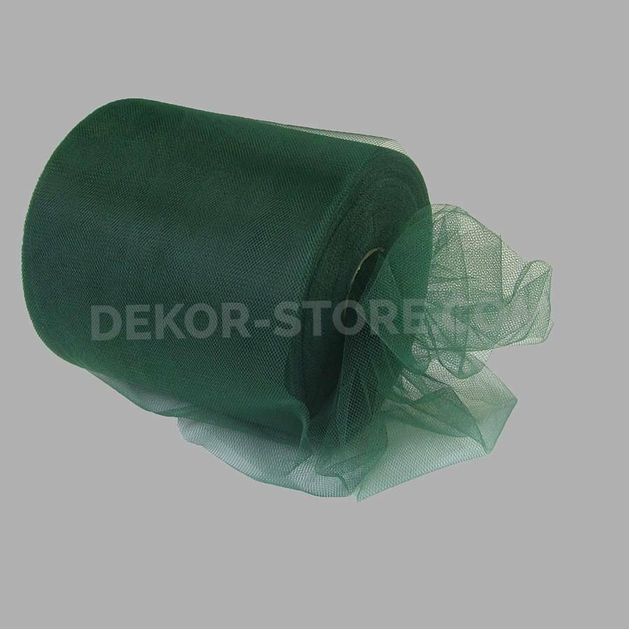 rgb tulle verde scuro - 12,5 cm x 100 mt