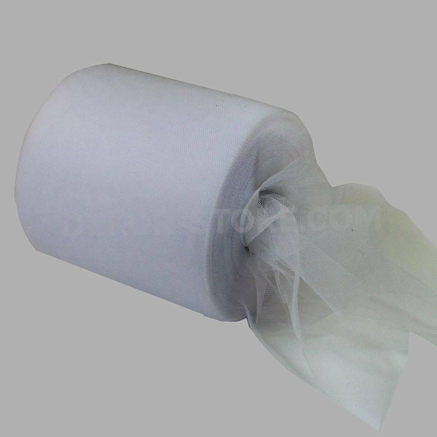 rgb tulle bianco - 15 cm x 100 mt