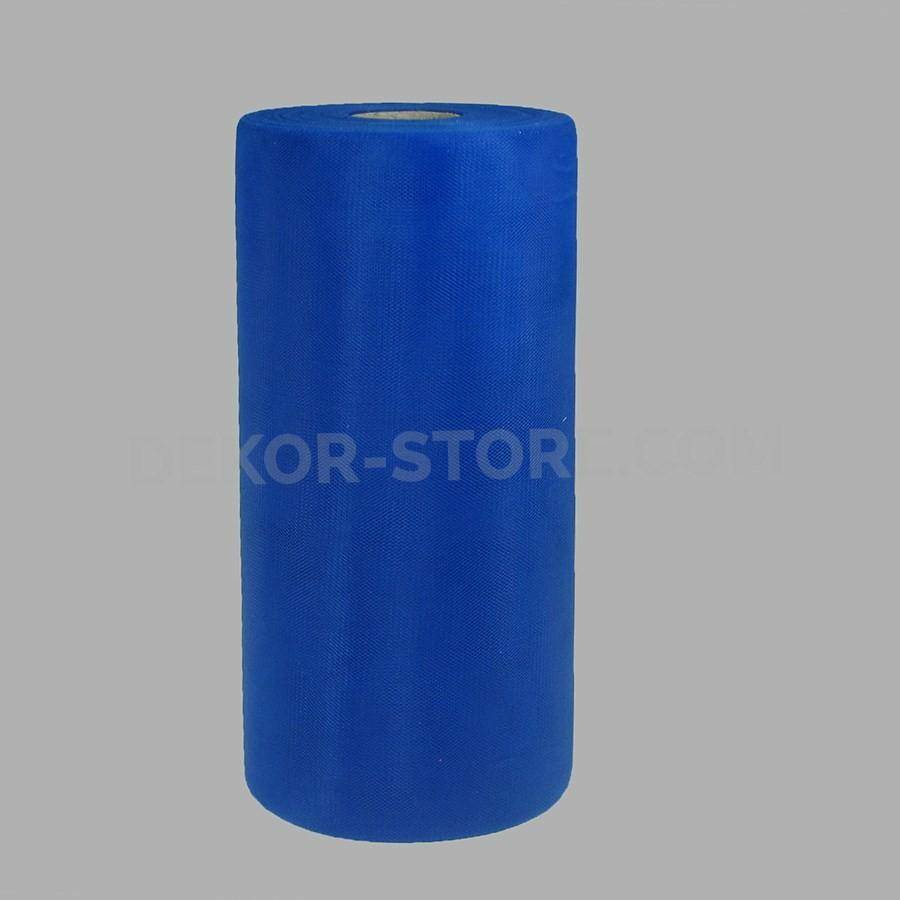 rgb tulle blu - 25 cm x 100 mt
