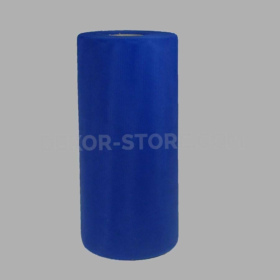 rgb tulle blu scuro - 25 cm x 100 mt