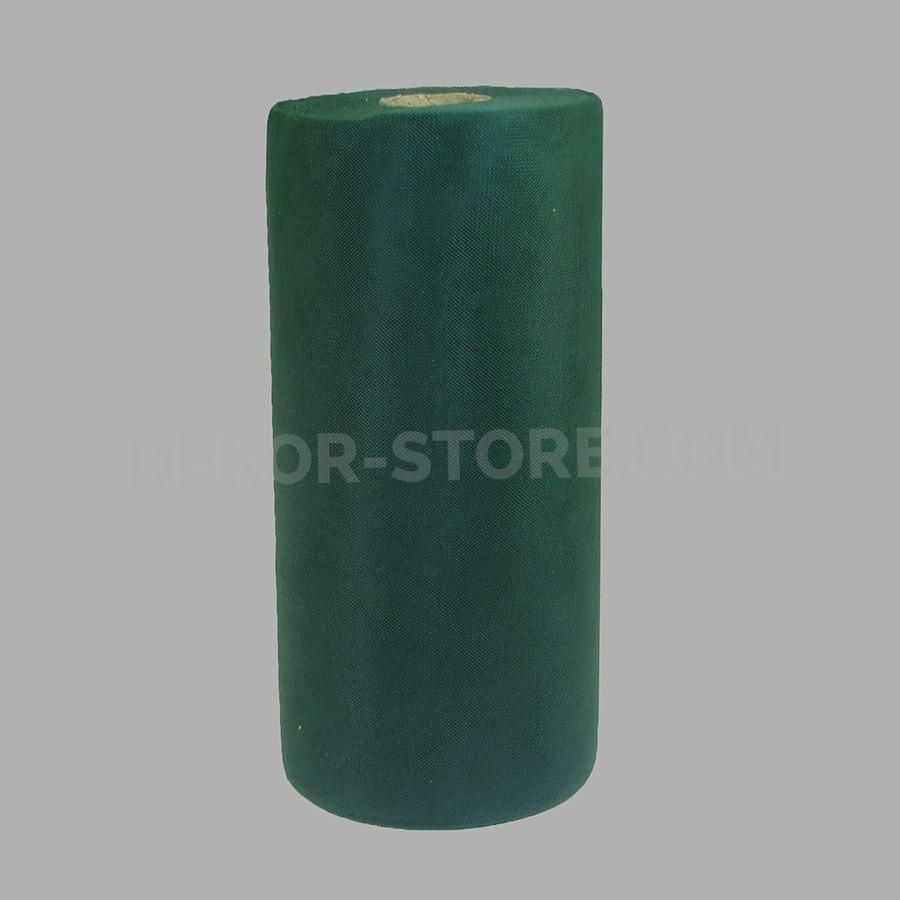 rgb tulle verde scuro - 25 cm x 100 mt