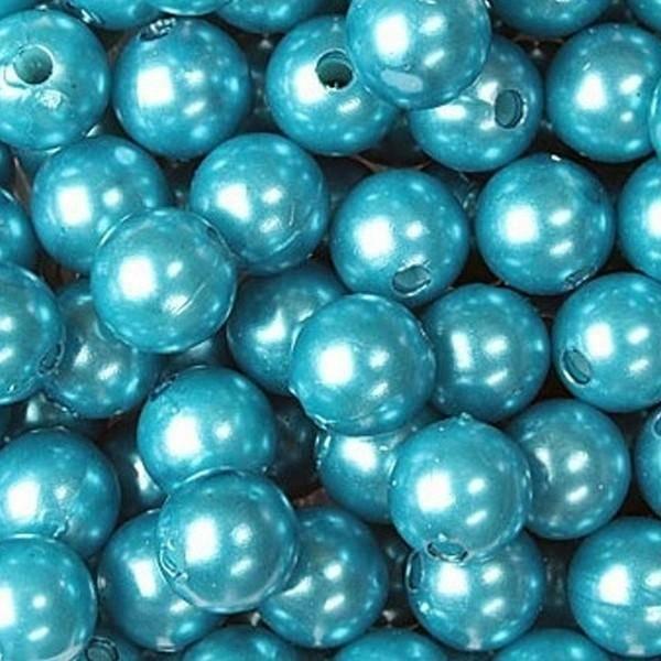 dol24 srl dol24 perle decorative 8 mm turchese - 250 pz