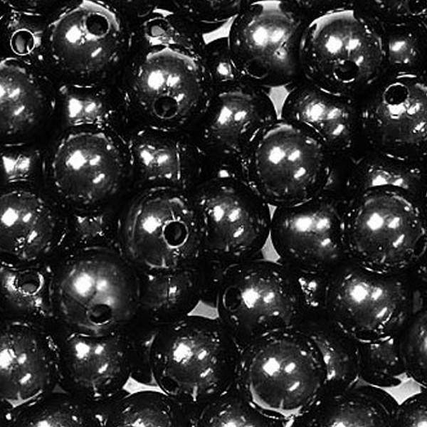 dol24 srl dol24 perle decorative 8 mm nere - 250 pz