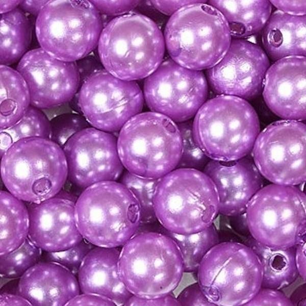 dol24 srl dol24 perle decorative 8 mm lilla - 250 pz