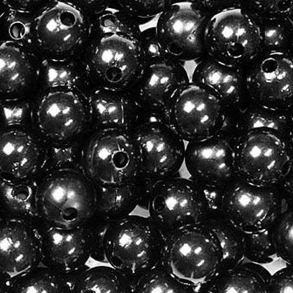 dol24 srl dol24 perle decorative 10 mm nere - 115 pz