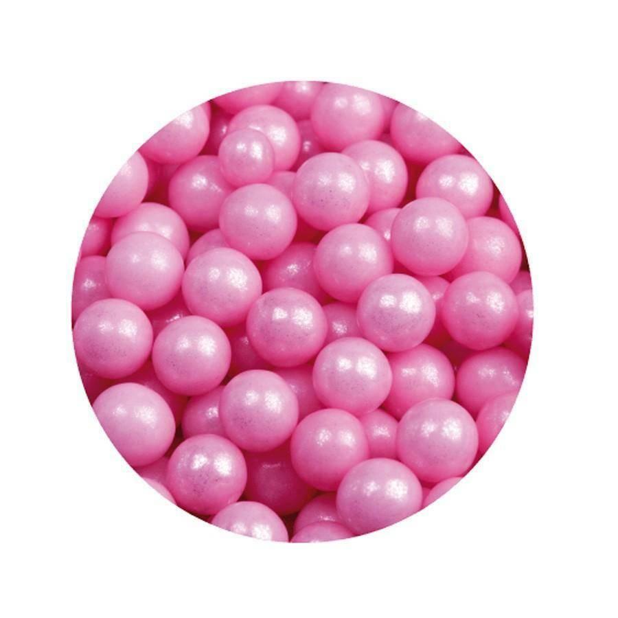 maxtris maxtris perline sferiche gloss rosa  1 kg