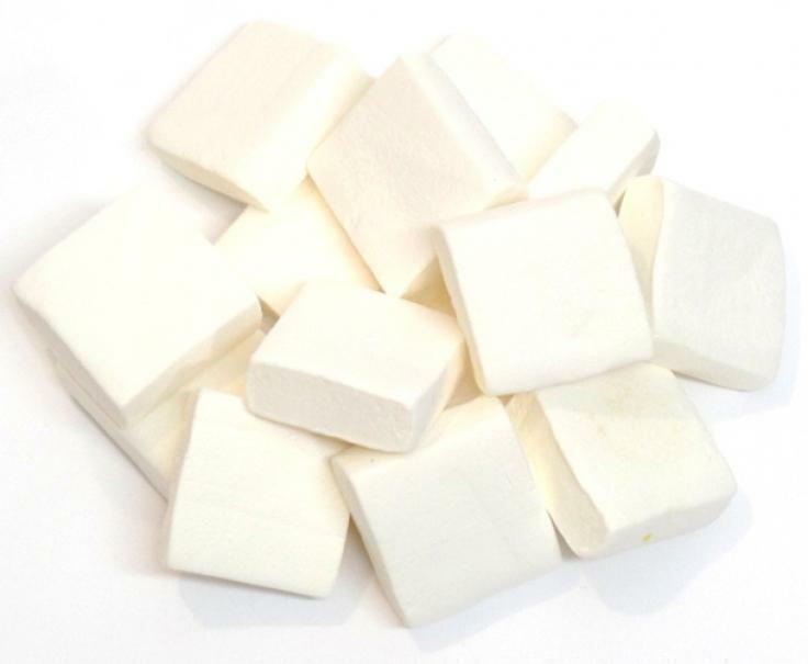bulgari quadrato bianco - marshmallows bulgari 1 kg