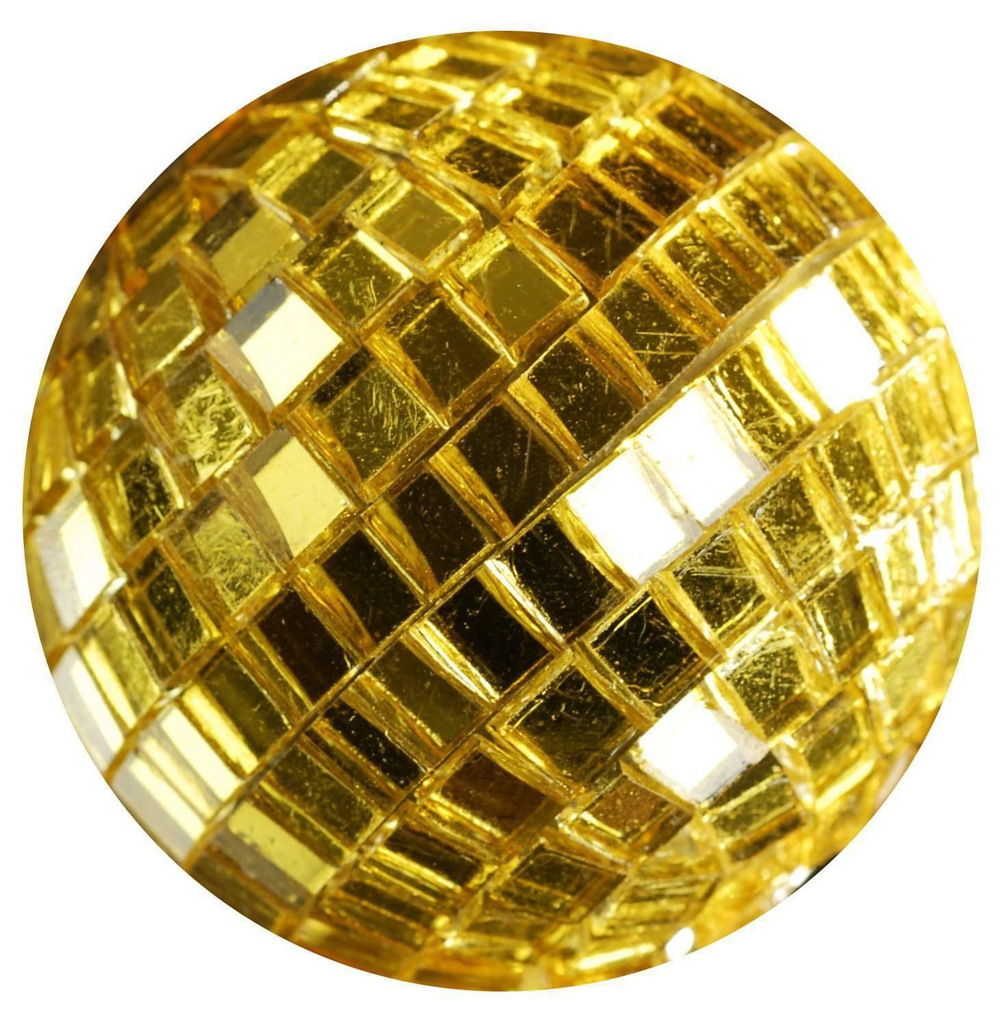 eurosand sfere di specchio oro 20 mm - 30 pz
