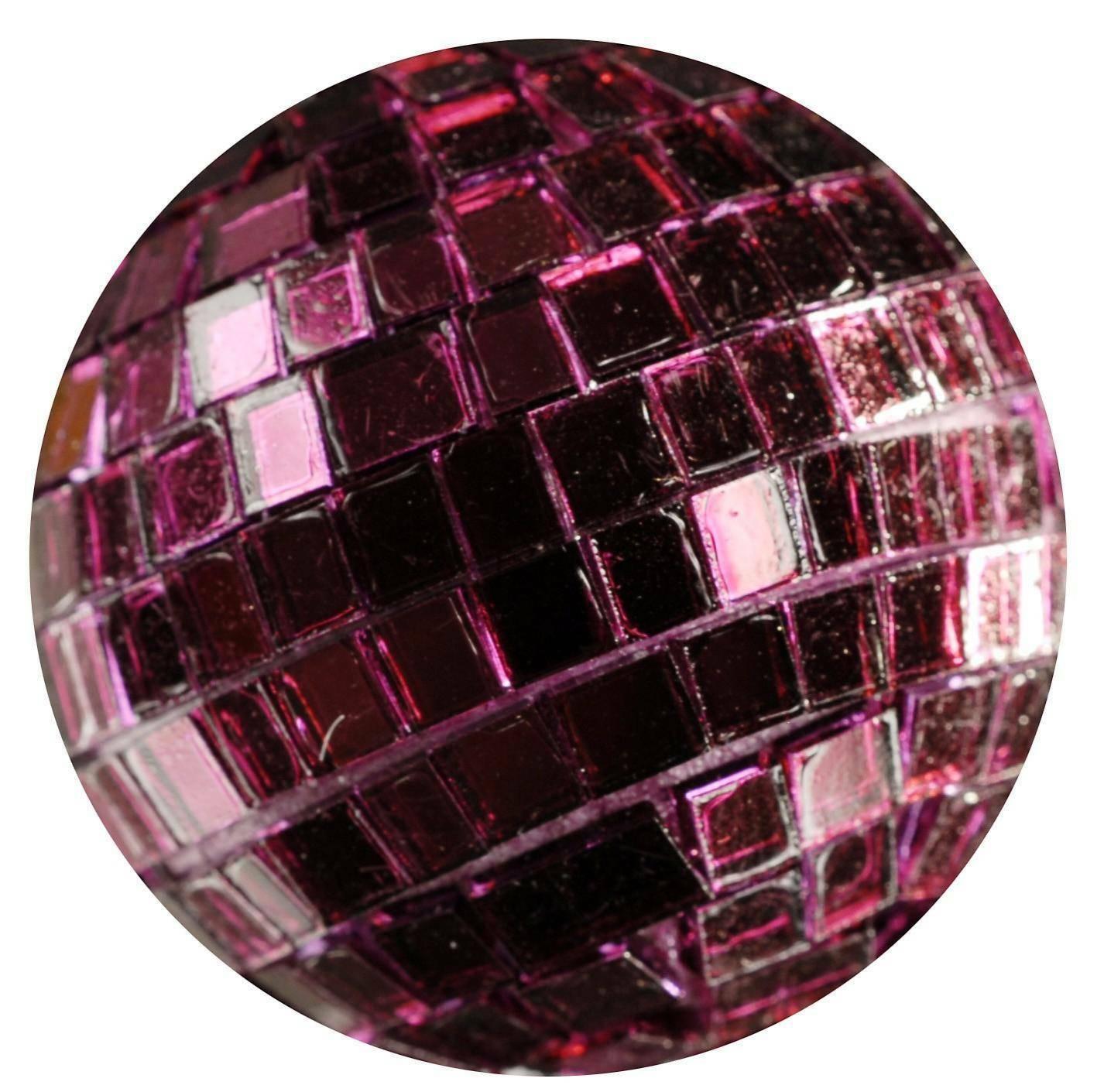 eurosand sfere di specchio bordeaux 40 mm