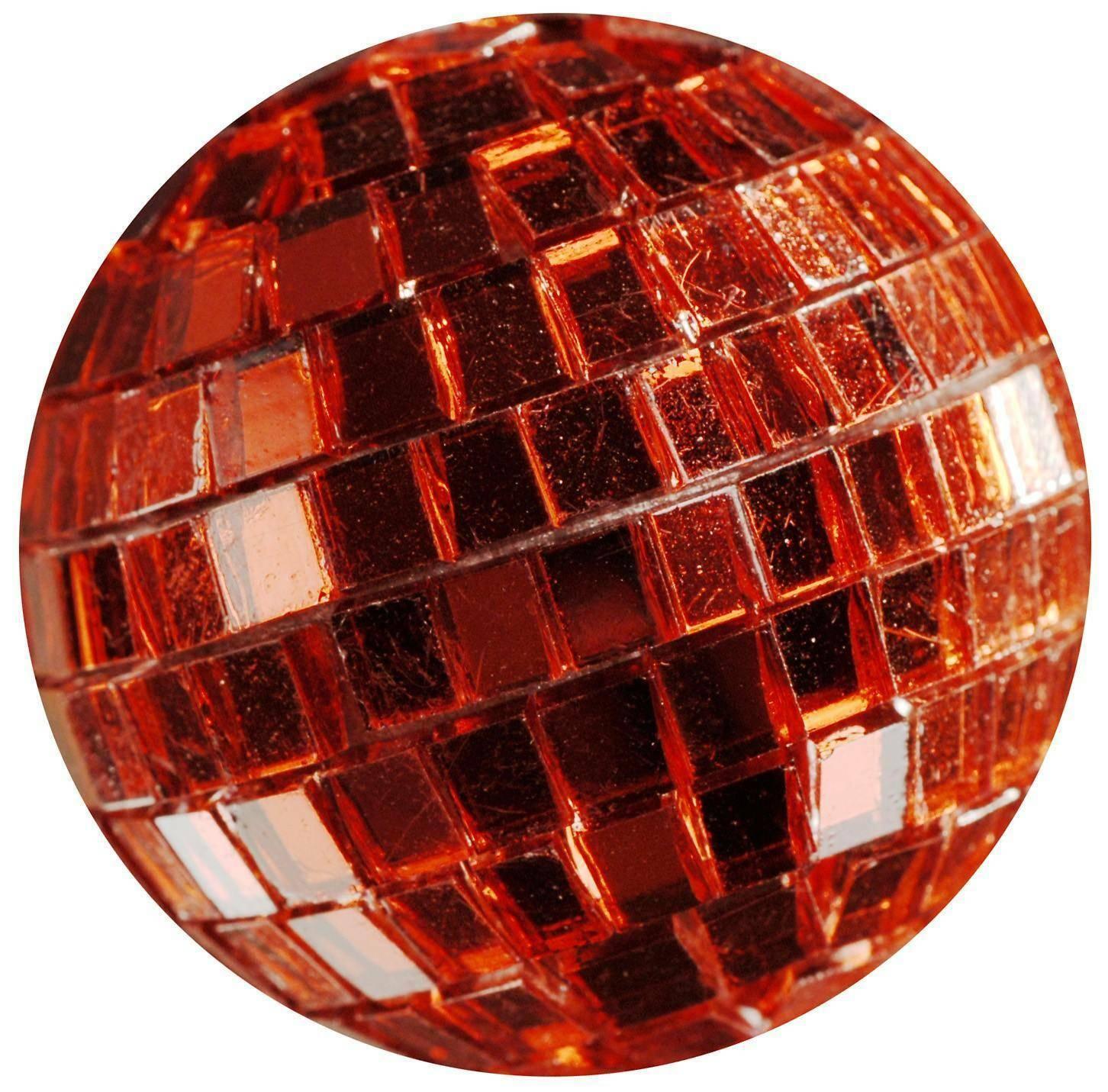 eurosand sfere di specchio rosso 40 mm