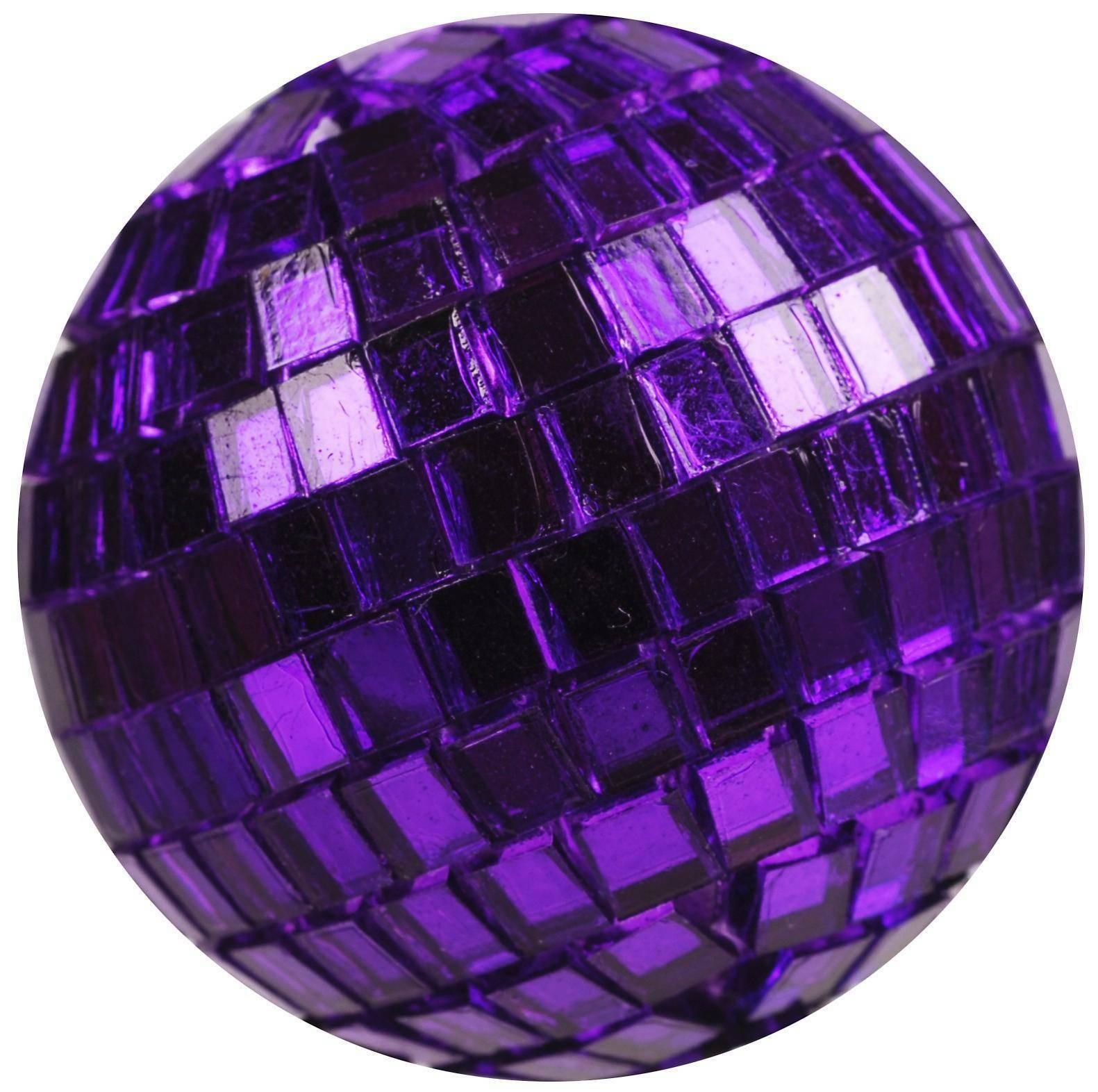 eurosand sfere di specchio viola 40 mm