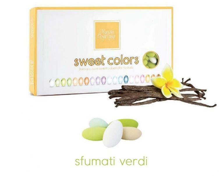 maxtris maxtris confetti sweet colors - sfumati verde pastello (1kg)