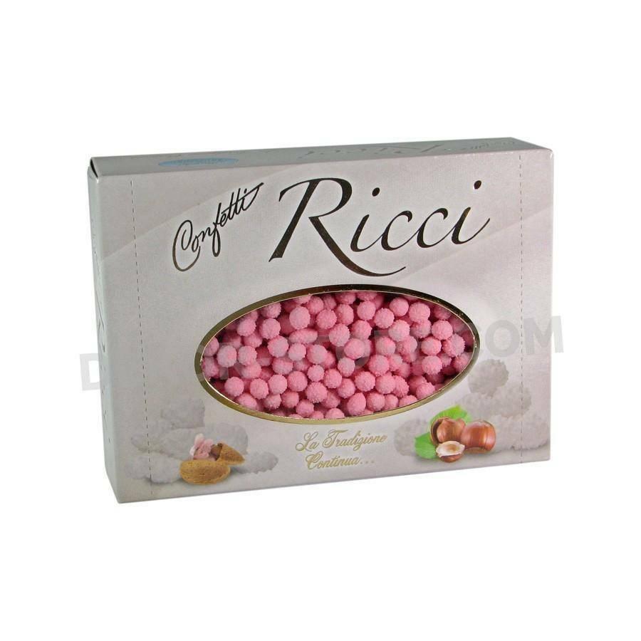 maxtris maxtris riccetti - confetti  rosa 1 kg
